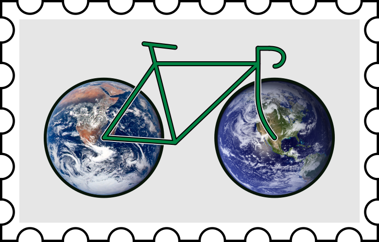 Earth Day Pedal Post